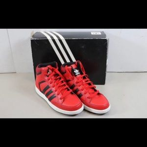 Red Adidas Viral Mid  Shoes Sz.9.5